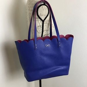 Large Scalloped Tote